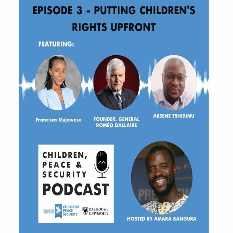 Putting Children's Rights Upfront